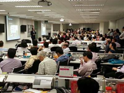 Feng Shui Talk Master Edwaard Liu at Walton International