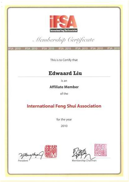 Edwaard Liu IFSA member